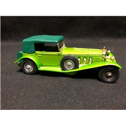 """MATCHBOX MODELS OF YESTERYEAR No. Y-16 1928 MERCEDES BENZ """"SS"""" 1972"""