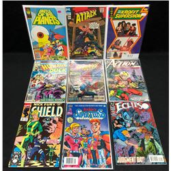 COMIC BOOK LOT (THE NEW KROFFT SUPERSHOW/ ATTACK/ HOWARD THE DUCK...)