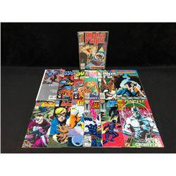 COMIC BOOK LOT (ALPHA FIGHT/ ANIMAL MAN/ ROGUE TROOPER...)
