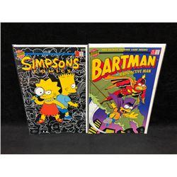 COMIC BOOK LOT (BARTMAN/ SIMPSONS)