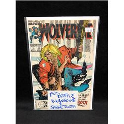 WOLVERINE #10 (MARVEL COMICS) *1st BATTLE WOLVERINE & SABRETOOTH*
