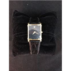 MENS RAYMOND WEIL 18K PLATED DRESS  WATCH  WORKING GREAT 100% GUARANTEED AUTHENTIC