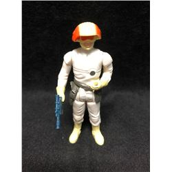 1970'S KENNER STAR WARS ACTION FIGURES CLOUD CAR PILOT WITH AUTHENTIC WEAPON ( MINT)