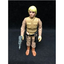 1970'S KENNER STAR WARS ACTION FIGURE BESPIN LUKE SKYWALKER WITH AUTHENTIC WEAPON ( MINT)