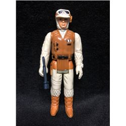 1970'S KENNER STAR WARS ACTION FIGURE REBEL SOLDIER HBG  WITH AUTHENTIC WEAPON ( MINT)
