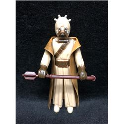 1970'S KENNER STAR WARS ACTION FIGURE SAND PEOPLE WITH AUTHENTIC WEAPON ( MINT)