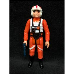 1970'S KENNER STAR WARS ACTION FIGURE X-WING LUKE SKYWALKER WITH AUTHENTIC WEAPON ( MINT)