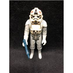 1970'S KENNER STAR WARS ACTION FIGURE AT AT DRIVER WITH AUTHENTIC WEAPON ( MINT)