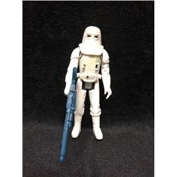 1970'S KENNER STAR WARS ACTION FIGURE IMPERIAL STORMTROOPER HBG WITH AUTHENTIC WEAPON ( MINT)