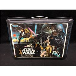 VINTAGE STAR WARS ACTION FIGURE CASE COMPLETE WITH MANUALS AND LABELS