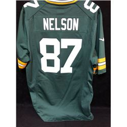 JORDY NELSON GREEN BAY PACKERS FOOTBALL JERSEY (SIZE MEDIUM)