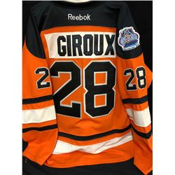 CLAUDE GIROUX WINTER CLASSIC FLYERS HOCKEY JERSEY (SIZE 52)