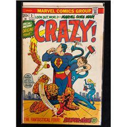 CRAZY #3 (MARVEL COMICS)