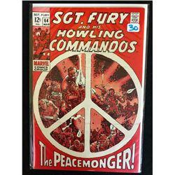 SGT. FURY AND HIS HOWLING COMMANDOS #64 (MARVEL COMICS)