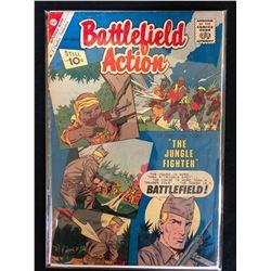 BATTLEFIELD ACTION COMIC BOOK (CHARLTON COMICS)