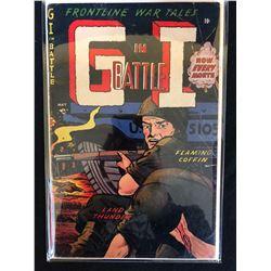 G.I IN BATTLE COMIC BOOK