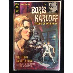 BORIS KARLOFF TALES OF MYSTERY (GOLD KEY COMICS)