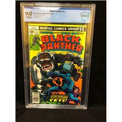1977 BLACK PANTHER #5 (MARVEL COMICS) 9.0 GRADED CBCS