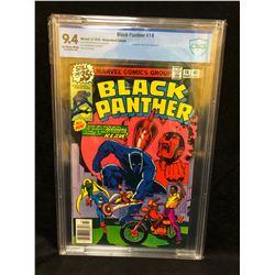 1979 BLACK PANTHER #14 (MARVEL COMICS) 9.4 GRADE CBCS