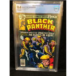 1978 BLACK PANTHER #12 (MARVEL COMICS) 9.4 GRADE CBCS