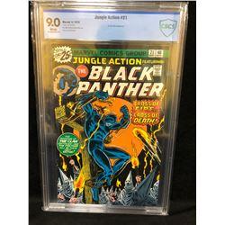 1976 JUNGLE ACTION FEATURING BLACK PANTHER #21(MARVEL COMICS) 9.0 GRADE CBCS
