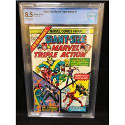 1975 GIANT SIZE MARVEL TRIPLE ACTION #1 (MARVEL COMICS) 8.5 GRADE CBCS