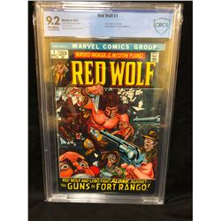 1972 RED WOLF #1 (MARVEL COMICS) 9.2 GRADE CBCS