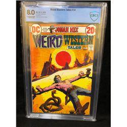1972 WEIRD WESTERN TALES #14 (DC COMICS) 8.0 GRADE CBCS