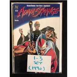 1990 ADAM STRANGE #1-3 SET (DC COMICS)