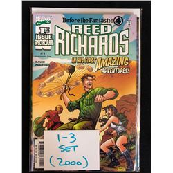2000 REED RICHARDS #1-3 SET (MARVEL COMICS)