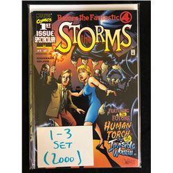 2000 THE STORMS #1-3 SET (MARVEL COMICS)