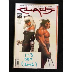 2006 WOLVERINE & THE BLACK CAT CLAWS #1-3 SET (MARVEL COMICS)