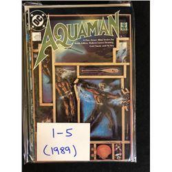 1989 AQUAMAN #1-5 (DC COMICS)