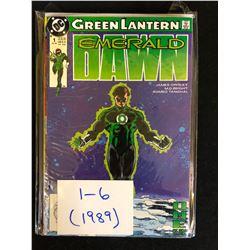 1989 GREEN LANTERN EMERALD DAWN #1-6 (DC COMICS)