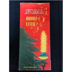 1950'S NOMA BUBBLE LIGHTS IN ORIGINAL BOX
