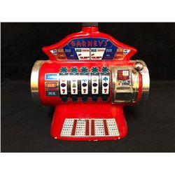 VINTAGE Barneys Casino Slot Machine Whiskey Decanter