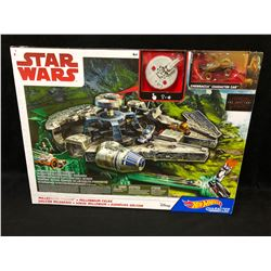NEW HOT WHEELS CHARACTER CAR SET STAR WARS