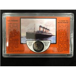 A SHIP TO REMEMBER SS TITANIC 1912 SILVER NICKEL SET