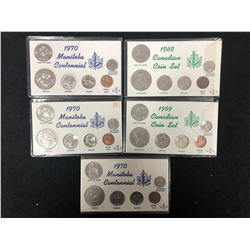 1969 AND 1970 CANADIAN COIN SETS