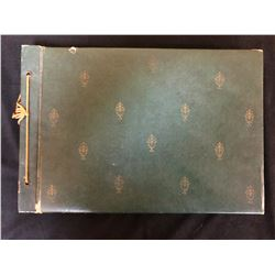 TURN OF THE CENTURY PHOTO ALBUM