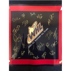 14 X 14 WHL ALL STARS SIGNED PRINT 2002/03 ( MORGAN REILLY)