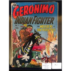 1950 GERONIMO INDIAN FIGHTER #1 (AVON PUBLICATION)