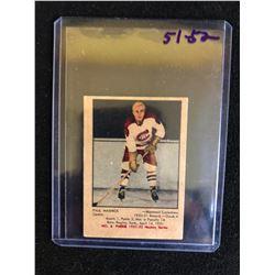 1951-52 PARKHURST #8 Paul Masnick RC Montreal Canadiens