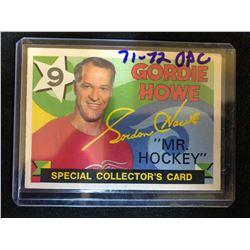 1971-72 OPC #262 Gordie Howe