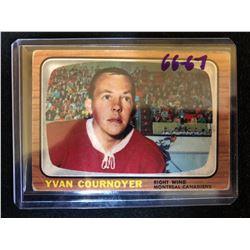 1966-67 Topps #72 Yvan Cournoyer