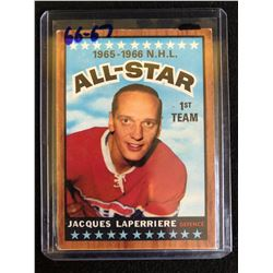 1966-67 Jacques Laperriere All-Star Topps Hockey Card #122
