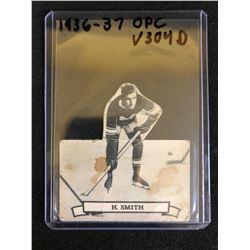 1936-37 O-PEE-CHEE V304 SERIES D HOCKEY CARD #132 HOOLEY SMITH