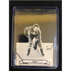 1936-37 V304 SERIES D NHL HOCKEY CARD #119 BUZZ BOLL SHARP