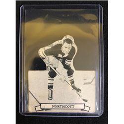RARE VINTAGE HOCKEY CARD 1936-37 V304D BALDY NORTHCOTT MONTREAL MAROONS