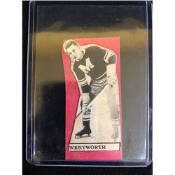 Marvin Wentworth Vintage Montreal Maroons NHL Hockey Card